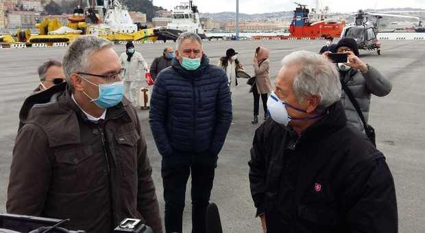 Guido Bertolaso arrivato ad Ancona: la missione è un nuovo ospedale per il Coronavirus
