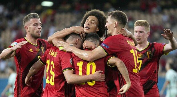 Belgio-Portogallo 1-0 live