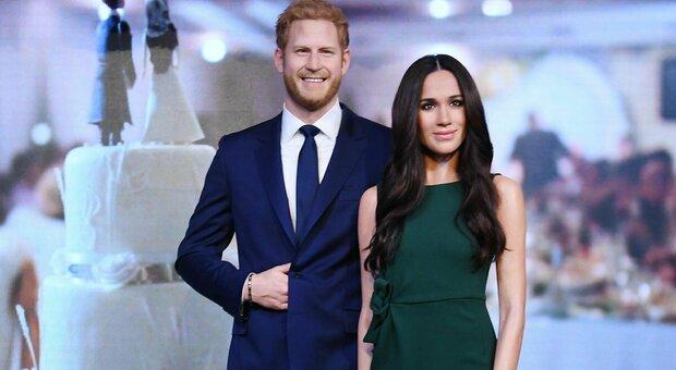 """Meghan Markle e Harry sfrattati anche da Madame Tussauds: trasferiti nella sezione """"Hollywood"""""""
