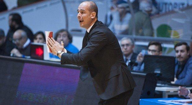 Il pesarese Giacomo Baioni, 45 anni, assistente allenatore a Brescia