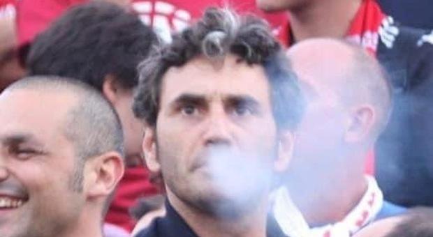 Una foto di Giovanni Micucci allo stadio