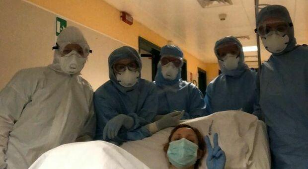 Claudia Orciani dopo il parto