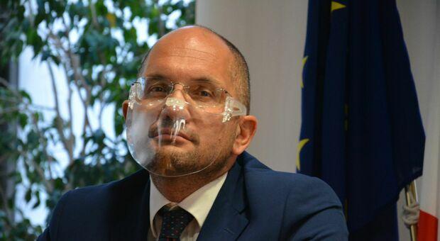 L'assessore Guido Castelli
