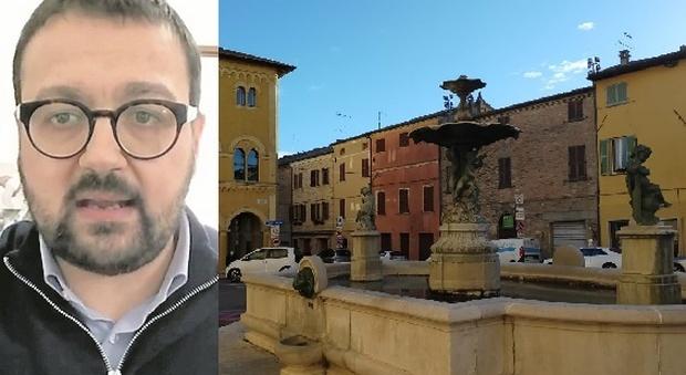 San Costanzo, videomessaggio del sindaco che avverte i cittadini: «Fate attenzione al Covid o chiudo tutto»
