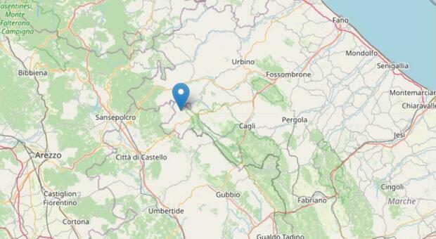 Terremoto nella notte, una scossa magnitudo 2.9 sveglia una provincia delle Marche