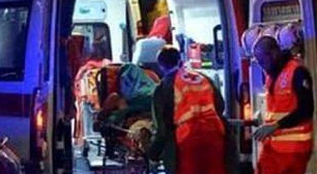 Cupramontnqa, colpo di sonno alla guida, si schianta contro un muro: grave un ragazzo 22enne