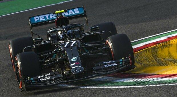 Imola, pole di Bottas. Leclerc 7°, Vettel eliminato in Q2