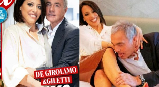 Nunzia De Girolamo e Massimo Giletti, il gioco sexy per 'Ciao Maschio': «Mio marito non è geloso, ha da fare»