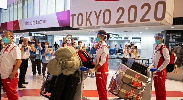 Tokyo, ancora atleti positivi: sale l'allerta per i Giochi