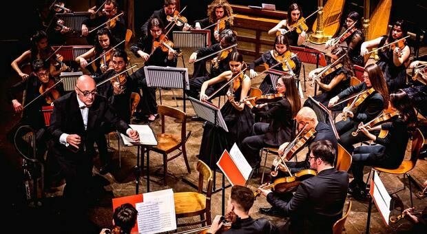 L'orchestra dei solisti del Conservatorio Rossini