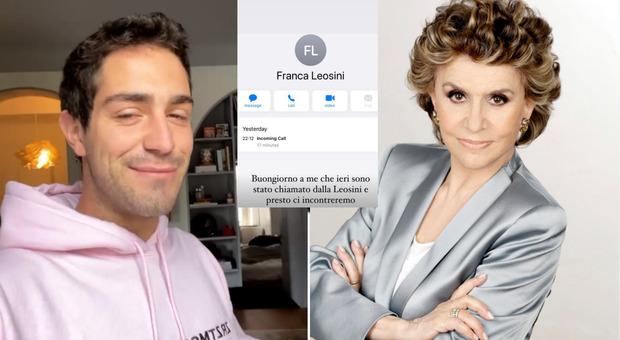 Zorzi-Leosini, la strana coppia. L'influencer: «Mi ha chiamato per incontrarci»