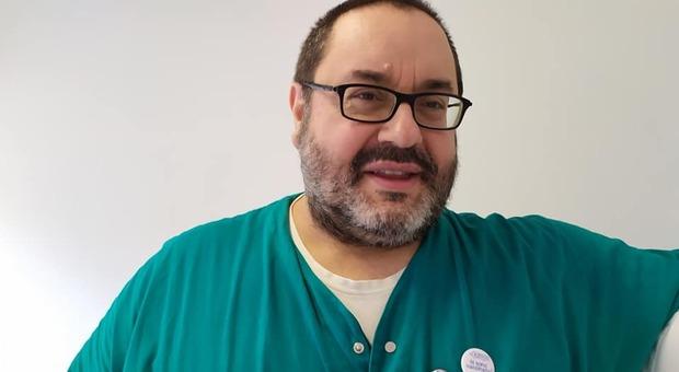 L'infermiere Enzo Palladino