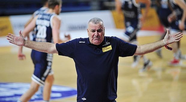 Jasmin Repesa, coach della Carpegna Prosciutto