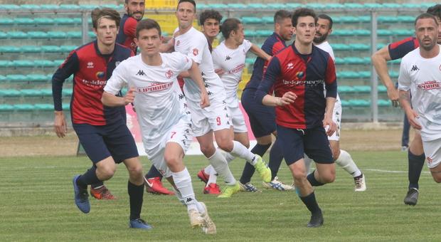 Sabah Kerjota, la scorsa stagione con l Anconitana, nuovo rinforzo del Montefano
