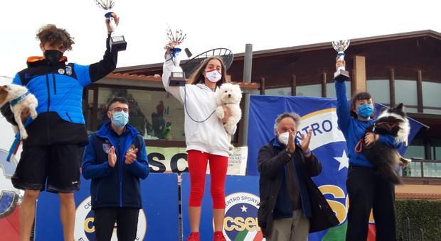Trionfo anconetano con Elena Boari nella finale italiana di agility dog