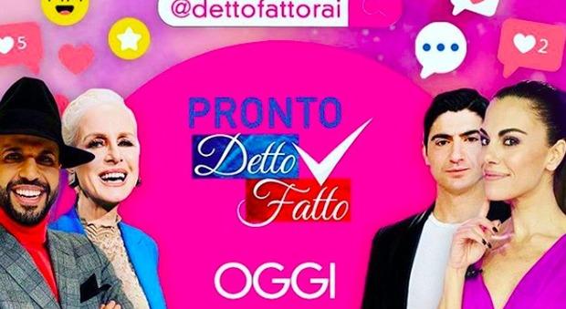 Bianca Guaccero torna con un nuovo format di Detto Fatto: l'idea per intrattenere i fan del programma
