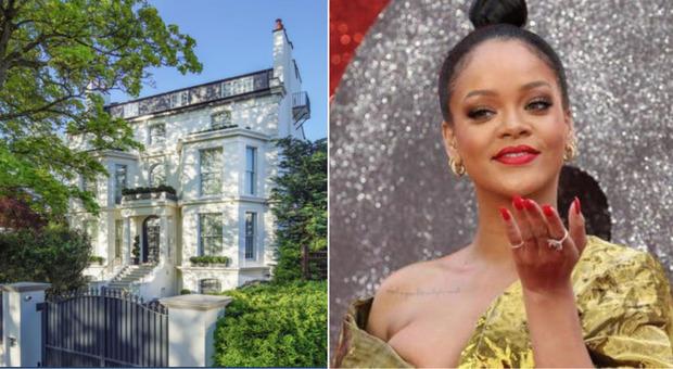 La villa londinese di Rihanna in vendita per 32 milioni di sterline