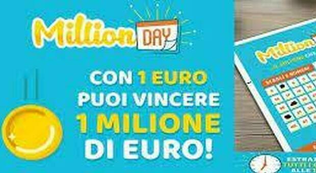 Million Day, l'estrazione dei cinque numeri vincenti di oggi 17 giugno 2021