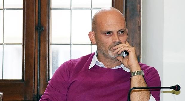 Il sindaco di Fossombrone Gabriele Bonci
