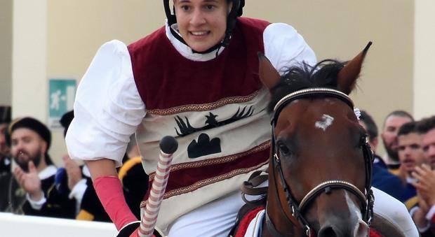 Subarcu il cavallo escluso alla Quintana