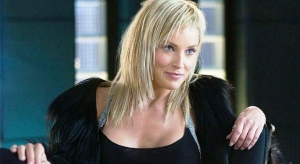 Sharon Stone in un'immagine di repertorio