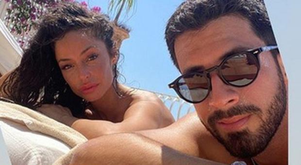 Raffaella Fico e Giulio Fratini (Instagram)