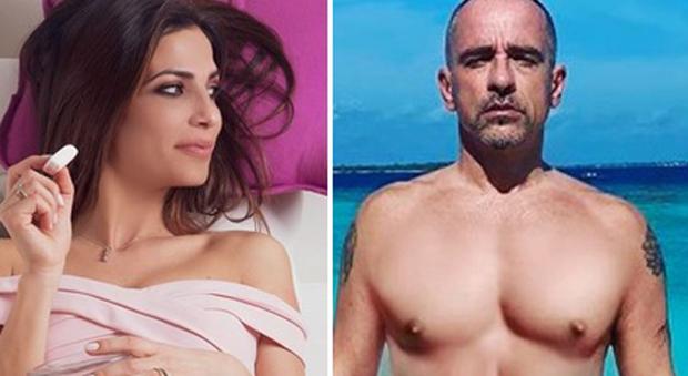 Roberta Morise ed Eros Ramazzotti (instagram)