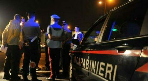 Carabinieri in servizio di notte (foto d'archivio)