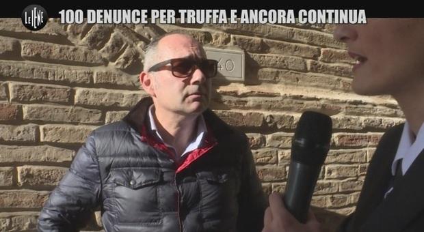 Marco Piergiacomi intervistato dalle Iene
