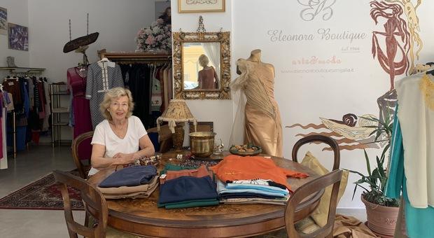 Eleonora, una vita per l alta moda: chiusa la boutique del lungomare. Ecco il racconto della titolare