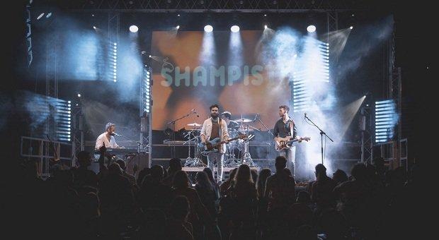 Gli Shampisti, gruppo di Pergola che dalle cover è passato alla produzione dei propri brani