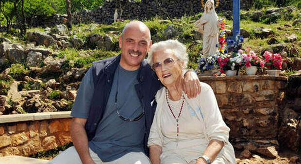 Paolo Brosio con la mamma Anna Marcacci