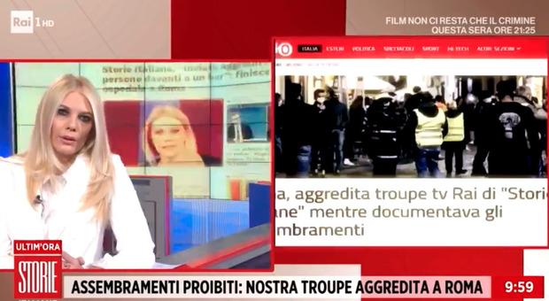 Aggressione alla troupe di Storie Italiane, arrestati due ultras della Lazio: «Molto noti nell'ambiente del tifo romano»