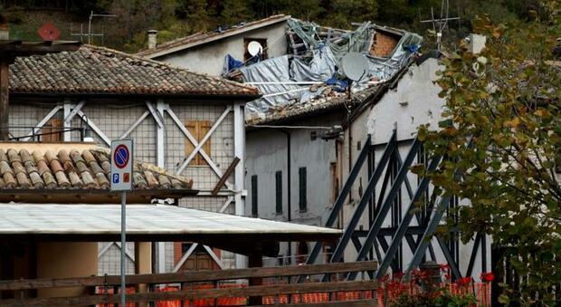 I danni provocati dal sisma del 2016 nelle Marche