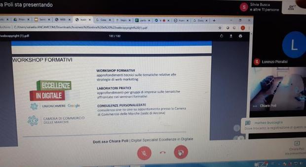 L'allarme coronavirus non ferma la Camera di Commercio: «La formazione si fa online»