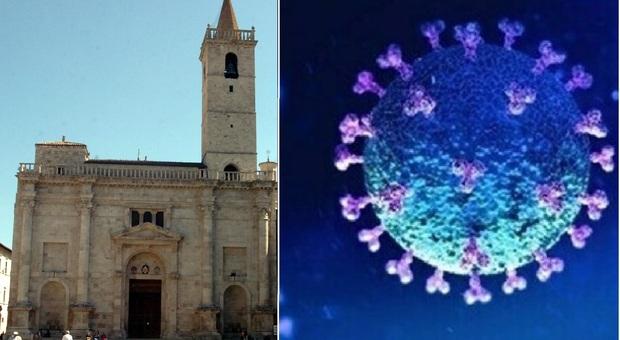 Ascoli, spettro Covid sulla Settimana Santa: un altro sacerdote positivo, è il vice parroco del Duomo