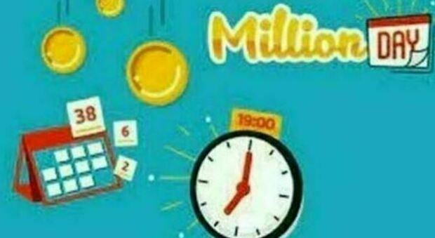 Million Day, l'estrazione dei cinque numeri vincenti di oggi giovedì 26 agosto 2021