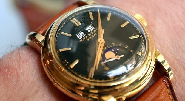 Un orologio Patek Phlippe (foto di repertorio)