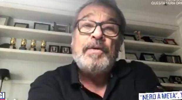 Claudio Amendola, dichiarazione d'amore in diretta per la moglie Francesca Neri. La conduttrice si emoziona