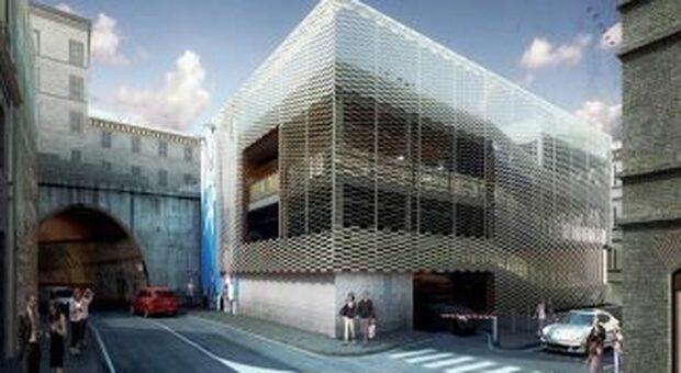 Un rendering del progetto di fattibilità elaborato dallo studio Arx di Firenze