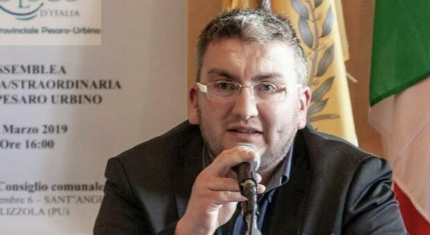 il presidente dell'Unione provinciale delle Pro Loco di Pesaro e Urbino, Damiano Bartocetti