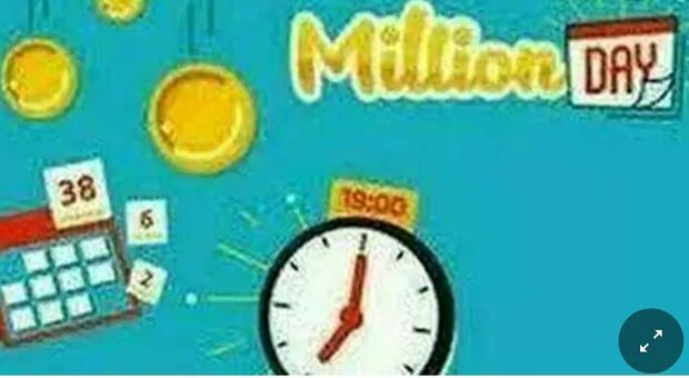 Million Day, l'estrazione dei numeri vincenti