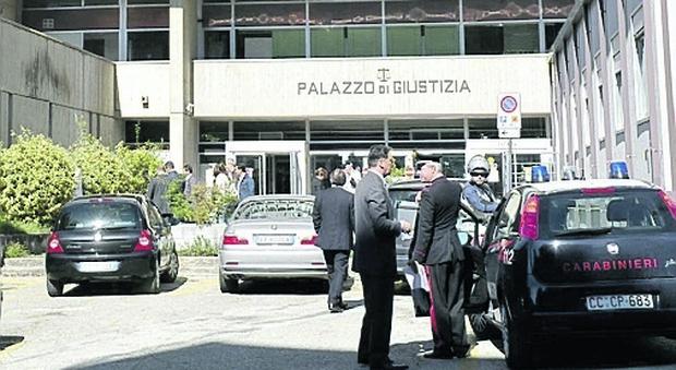 Il Tribunale di Macerata dove si celebra il processo