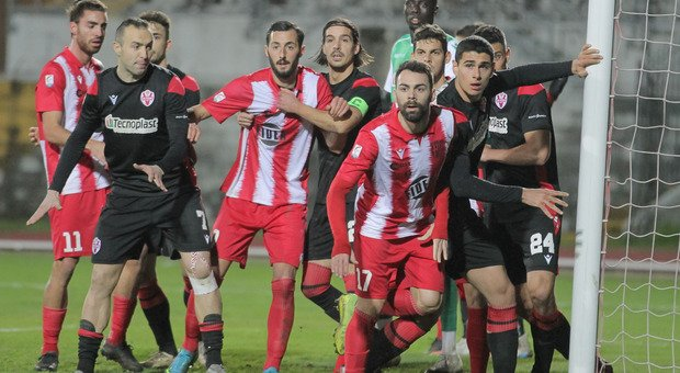 Un'immagine di Matelica-Vis Pesaro terminata 1-1