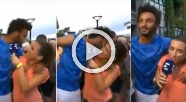 Molestie alla giornalista in diretta, il tennista Hamou espulso dal Roland Garros