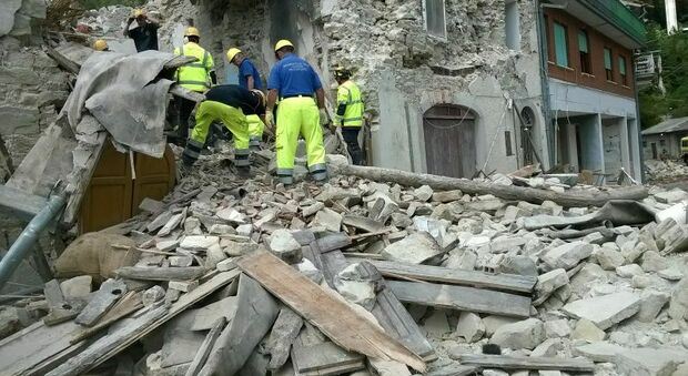 I danni causati dal terremoto del 2016