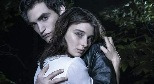 L'attrice ascolana Alice Pagani in una scena del film con Rocco Fasano