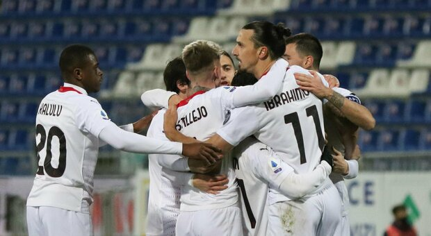 Cagliari-Milan, diretta dalle 20.45. Le formazioni ufficiali: ok Ibra, c'è Brahim Diaz