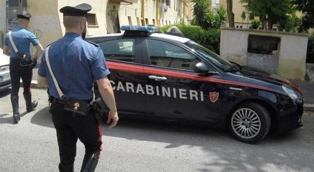 Carabinieri in servizio, foto tratta dal Web