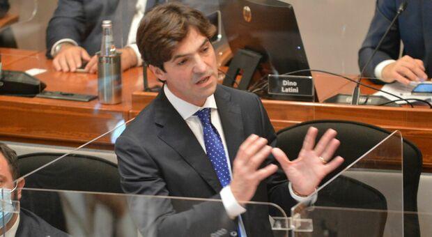 Il presidente Francesco Acquaroli